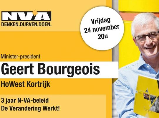 Geert Bourgeois Kortrijk