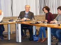 Onze fractie: Jeroen Dujardin, Eric Lemey, Kirsten Coucke en Lander Dewaele